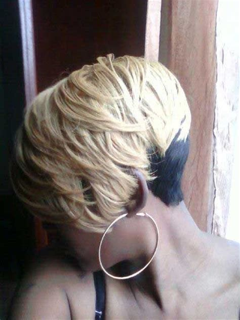 hairstyles blonde and black 28 trendy black women hairstyles for short hair popular