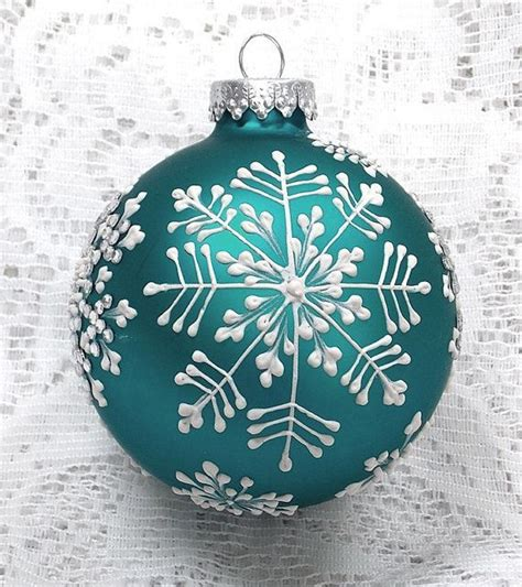 328 best images about painted christmas ornaments on