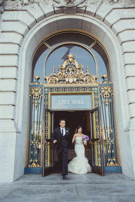 sophisticated san francisco city hall wedding iqphoto