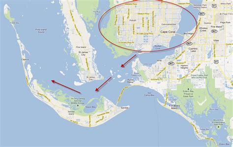 map of cape coral florida area is cape coral the best place for water access to gulf