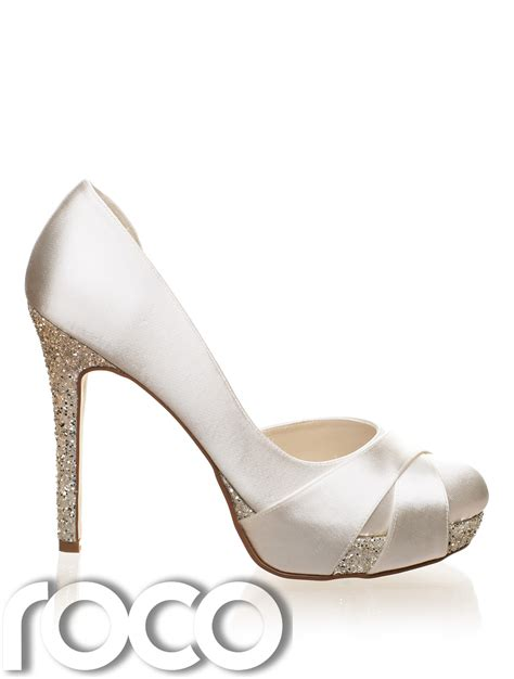ivory bridal shoes high heel ivory designer rainbow club high heel bridesmaid