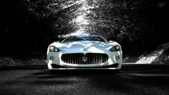 White Maserati Granturismo S Maserati Granturismo S Maserati