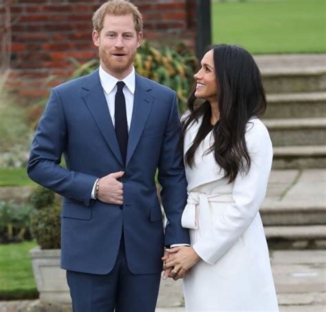 prince harry thrilled to be engaged meghan markle vs kate middleton s royal engagement outfits