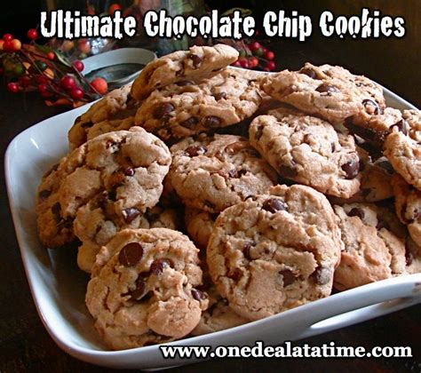 7 Ultimate Cookie Recipes by Ultimate Chocolate Chip Cookies Recipe Dishmaps