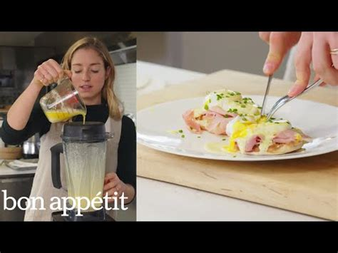 Bon Appetit Test Kitchen by Molly Makes Eggs Benedict For A Crowd From The Test