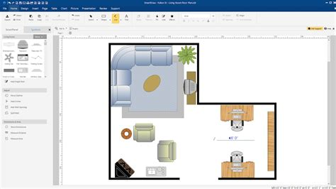 quick floor plan creator quick introduction create a floor plan with smartdraw