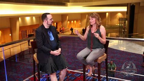 lucy lawless interview lucy lawless interview dragon con 2013 youtube