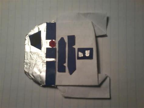 Origami R2d2 Book - cover r2 d2 origami yoda