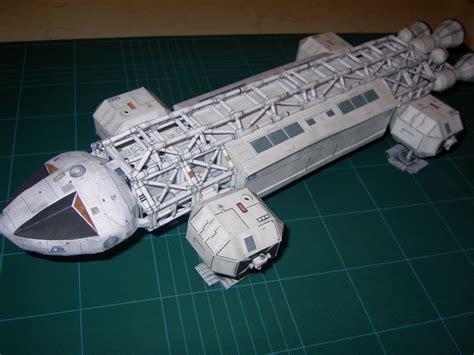 Blender Papercraft - space 1999 eagle model by greenelf1967 on deviantart