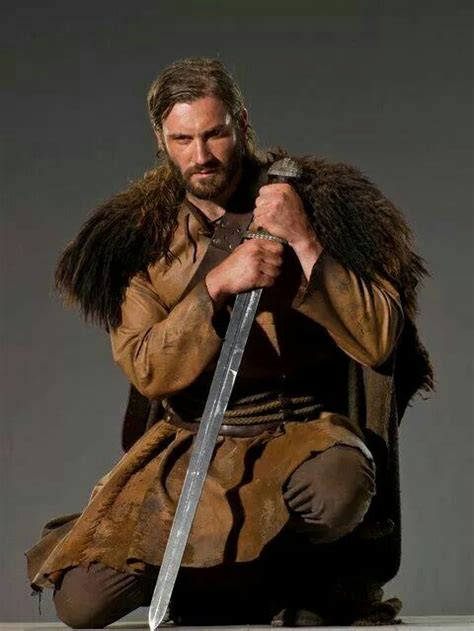rollo lothbrok rollo lothbrok with sword handsome men pinterest