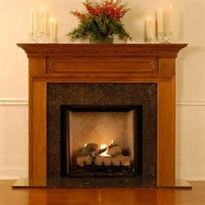 the hton wood fireplace mantel from design the space