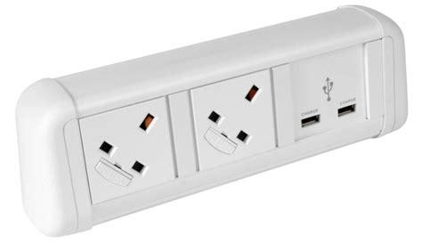 desk power contour desktop power module