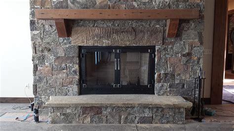 custom metal fireplace doors big timberworks bozeman mt