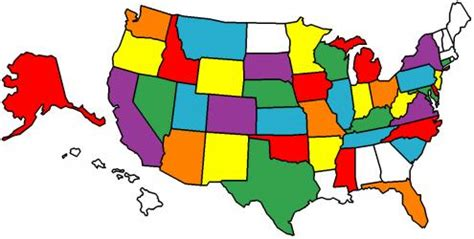 us map how many states you visited where you been reflections