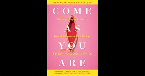 Come As You Are By Emily Nagoski On Ibooks