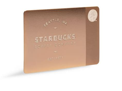 Starbuck Gift Card Deals - starbucks offers luxury gilded gift cards for the holidays psfk