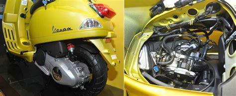 Lu Led Motor Warna Biru motor vespa s 125 v3 gaya lama sentuhan baru