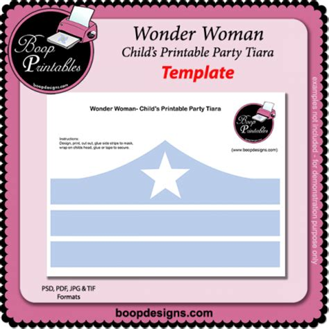 printable wonder woman crown search results for crown printable template calendar 2015