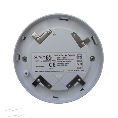 fx343 apollo 55000 317 series 65 optical smoke detector