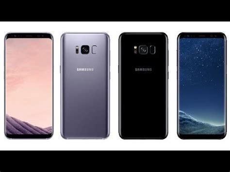 samsung galaxy s8 official colors launch price