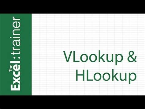 learn vlookup hlookup excel tips how to use vlookup and hlookup functions