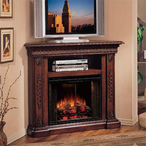corner tv stand with fireplace free wood duck box plans