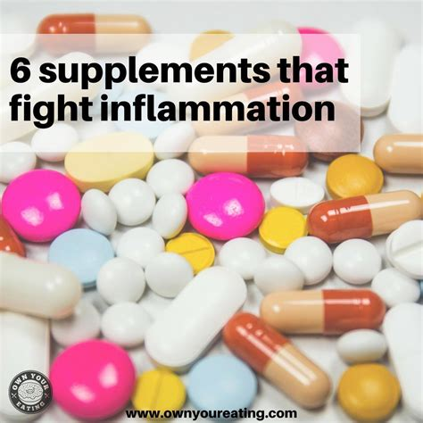 6 supplements that fight inflammation 6 supplements that fight inflammation your anti