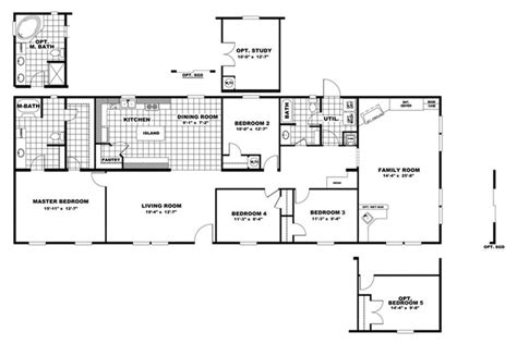 manufactured home floor plan 2010 clayton summit floorplan summit 28x80 76 29sum28764ch oakwood homes