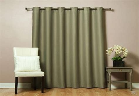 wide window curtains wide width patio bedroom livingroom grommet window