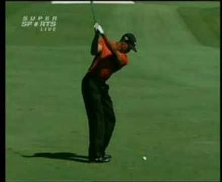 sergio garcia swing vision tiger woods swingvision down line 1 hunsong media