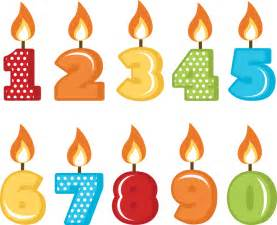birthday candles svg cut files for scrapbooking birthday