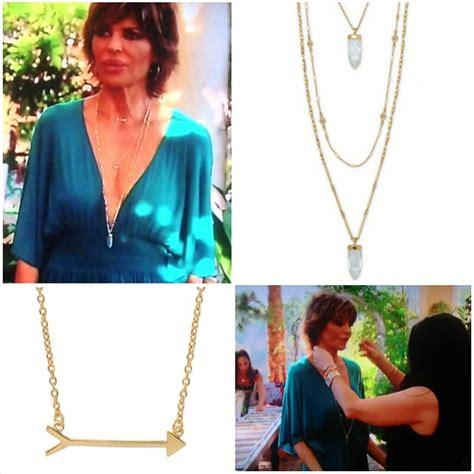 Luck Necklace Lisa Rina | whitney fields style beauty jewelry blog lisa rinna