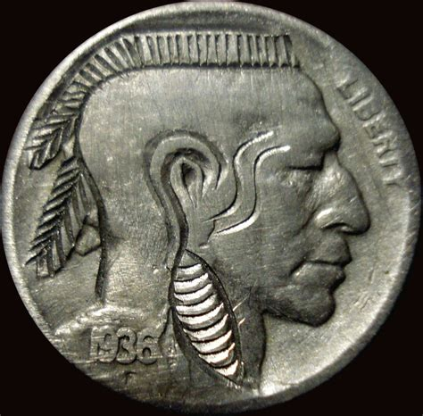mohawk nickel altered indian head logos haudenosaunee pinterest