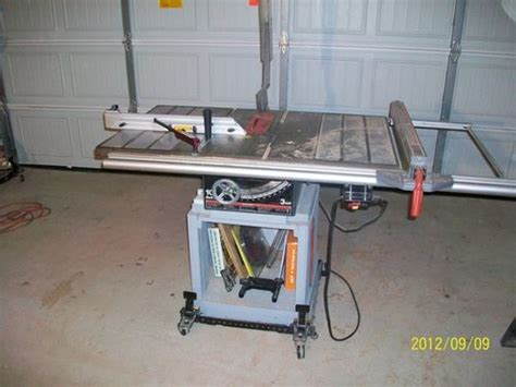 rail saw vs table saw fence upgrades for craftsman table saw by jarodmorris