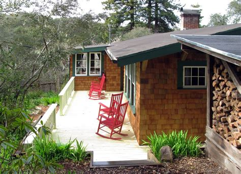 Redwood Cabin Rentals by Historic 1917 Redwood Cabin With Tub Vrbo