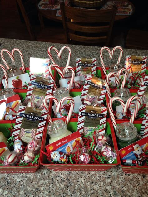 christmas baskets for staff small yankee candles with a