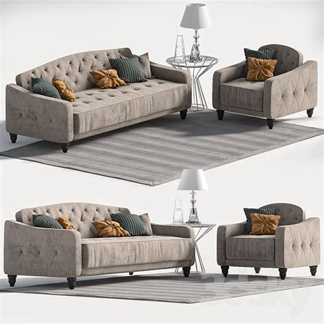 novogratz vintage tufted sofa sleeper ii 3d models sofa novogratz vintage tufted sofa sleeper ii
