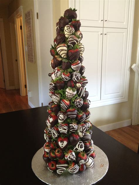 chocolate covered strawberry tree    berry bouquet wwwtheberrybouquetca favorite