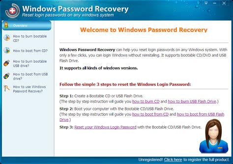 reset windows password version 1 90 registration code download windows password key professional for windows 10