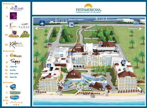 Bar Floor Plans by Fiesta Americana Condesa Cancun Photo Gallery Family