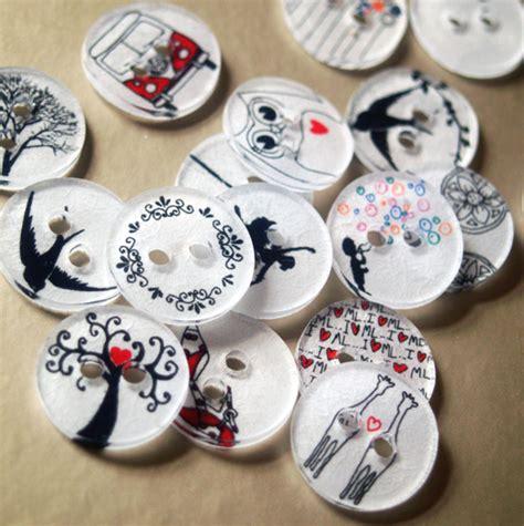 Make Shrink Plastic Buttons » Dollar Store Crafts