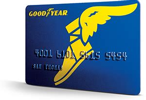 financing goodyear credit card  snyder