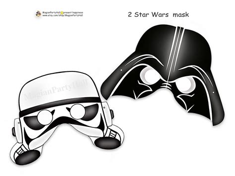 printable darth vader mask for elf on the shelf represent the empire s side with darth vader and
