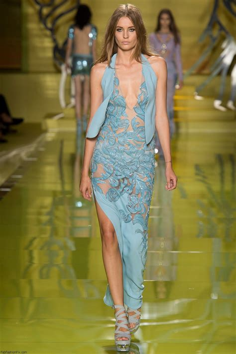 Not So Fab Fashion Week Fumbles by Versace Summer 2014 Collection Milan Fashion Week