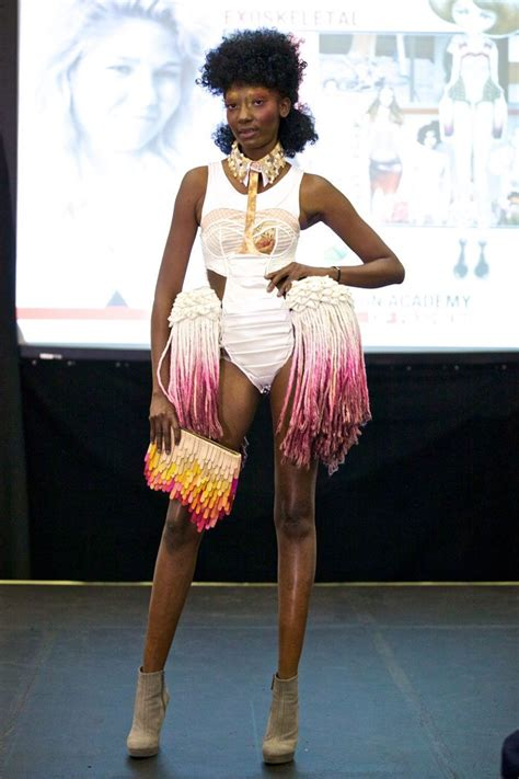 Upcycling Clothes Before And After - avant garde fashion show upcycle that