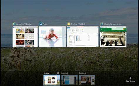 escritorios virtuales windows 7 as 237 ser 225 n los escritorios virtuales en windows 10