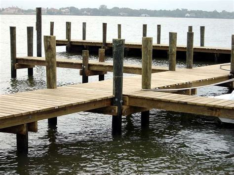 pier vs dock poles pilings posts