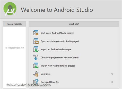 tutorial android studio 3 0 tutorial install android studio pada windows