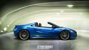 Make Of Acura 2016 Acura Nsx Targa Rendered Makes Sense Historically