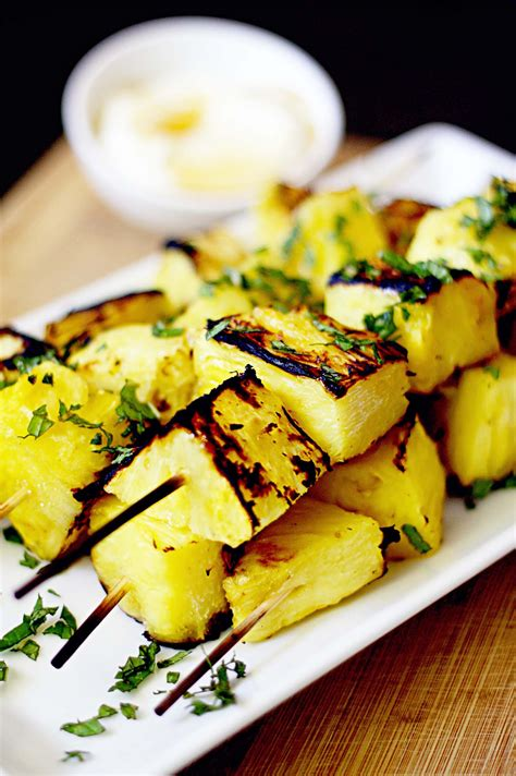 Grilled Pineapple Kabobs